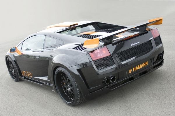 Lamborghini Gallardo Heckflügel Victory Carbon Hamann Motorsport