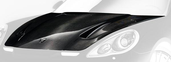 Porsche Panamera Motorhaube Carbon Hamann Motorsport