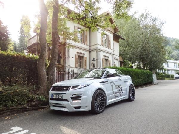 Range Rover Evoque Cabrio als Hamann Motorsport Widebody