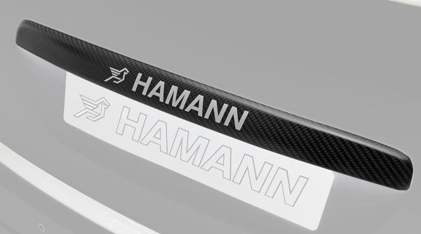 Porsche Cayenne Heckklappenblende Carbon Hamann Motorsport