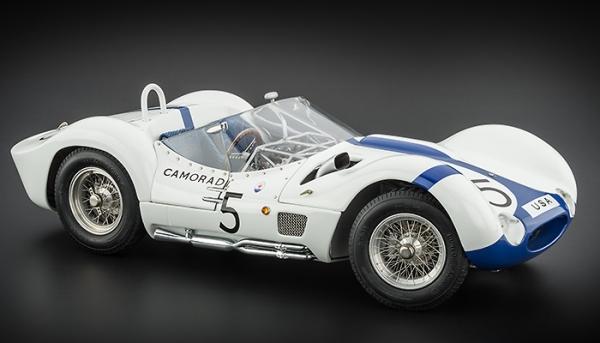 Maserati Tipo 61 Birdcage #5 1000 km Nürburgring 1960 Moss / Gurney