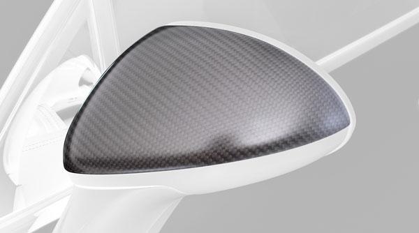 Porsche Cayenne Spiegelkappen Carbon Hamann Motorsport