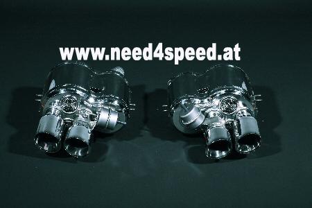 Ferrari 550 & 575M Endschalldämpfer Capristo