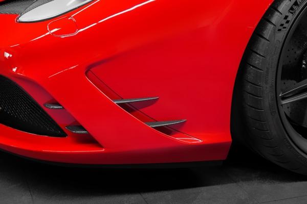 Ferrari 458 Speciale Carbon Frontfinnen Capristo