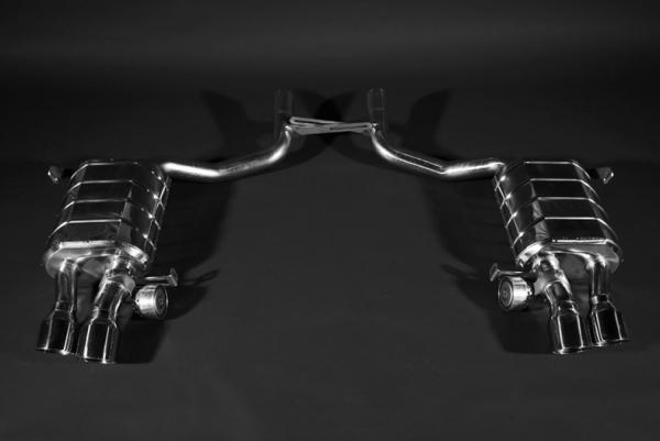 Maserati Quattroporte Endschalldämpfer Capristo