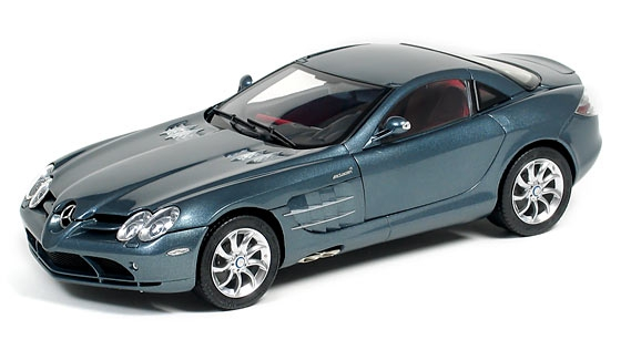 MB SLR McLaren 2003 (grey / red leather)