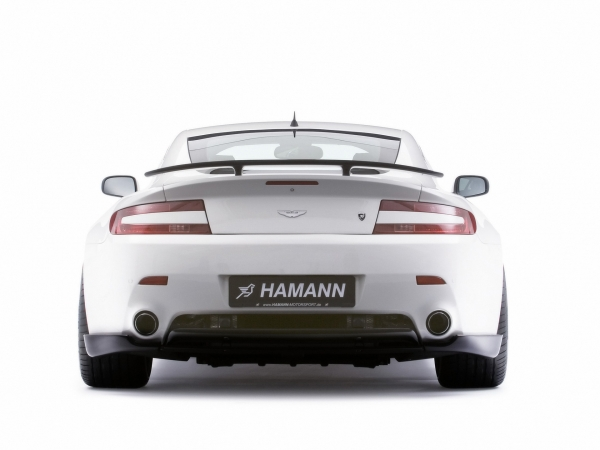Aston Martin Carbon Heckmittelblende Hamann Motorsport