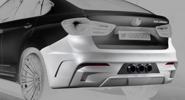 BMW X6 F16 Heckschürze Hamann Motorsport
