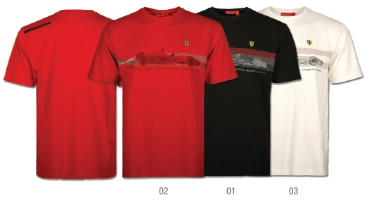 Ferrari T-Shirt Wind Tunnel
