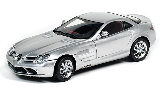 MB SLR McLaren 2003 (silver / red leather)