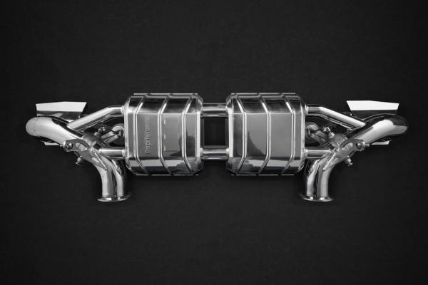 Audi R8 V10 & PLUS Abgasanlage Capristo