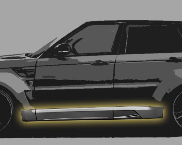 Range Rover Sport Seitenbeplankung Hamann Motorsport