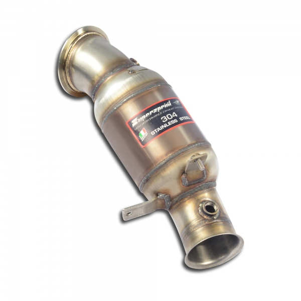 Downpipe + Sport Metallkatalysator Supersprint 047321