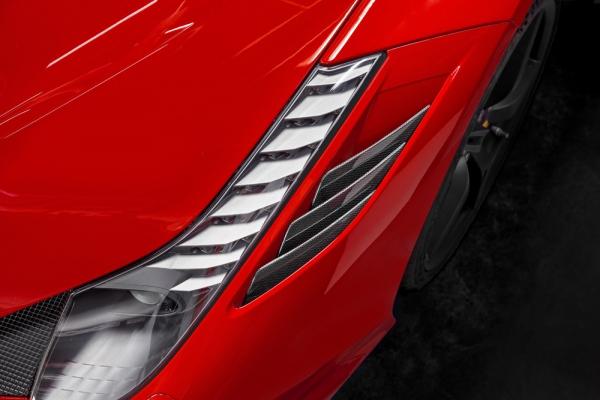 Ferrari 458 Speciale Carbon Luftauslassrippen Capristo