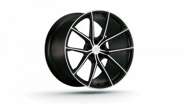 Vision matt schwarz Diamond Cut 21 Zoll Felgen BMW M5 F90 Hamann Motorsport