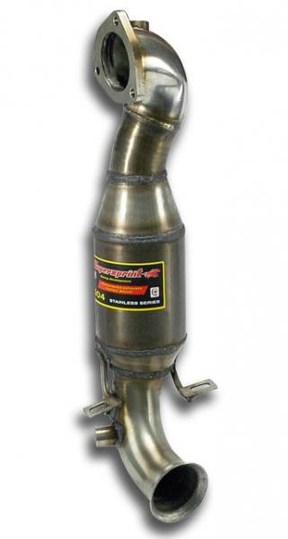 Rohrsatz ab Turbolader + Sport Metallkatalysator (Supersprint)