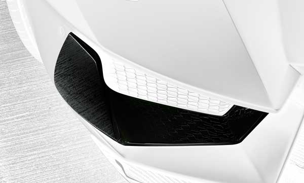 Lamborghini Aventador Luftschachteinsätze Carbon Hamann Motorsport