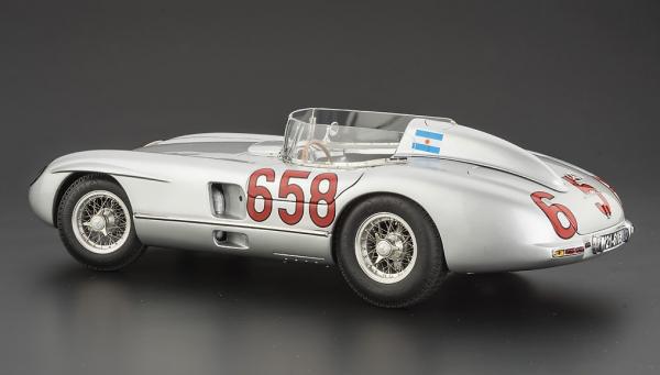 Mercedes-Benz 300 SLR Mille Miglia 1955 #658 Fangio