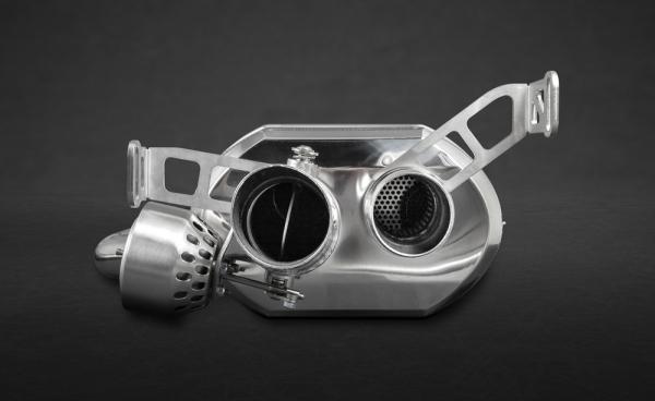 Bentley Continental GT V8 & V8 S Endschalldämpfer Capristo