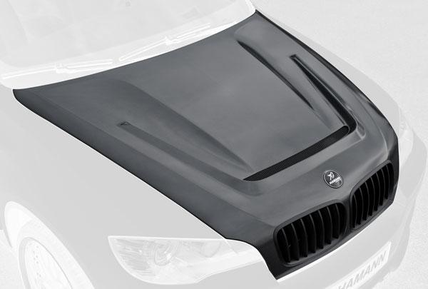 BMW X5 E70 Motorhaube Flash Carbon Hamann Motorsport
