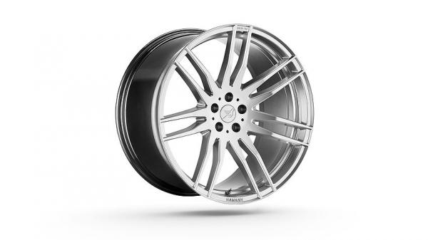 Challenge Hyper Silver 22 Zoll Felgen Mercedes AMG GLE Coupe Hamann Motorsport