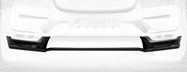 Jaguar F-Pace Frontspoiler Hamann Motorsport