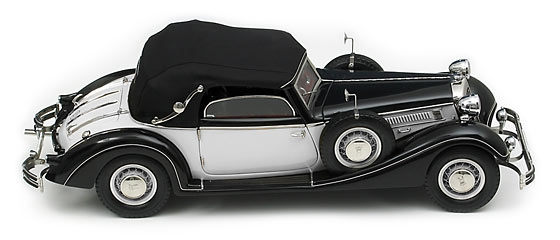 Horch 853 1937 (black / silver)