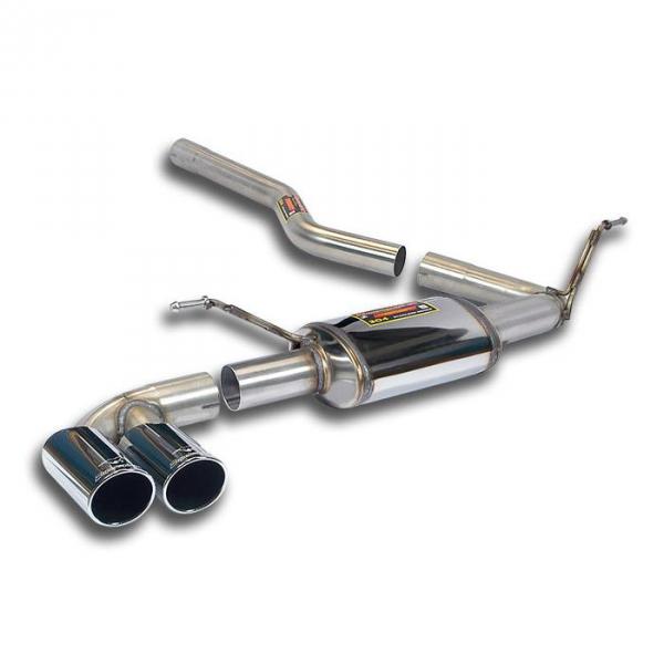 Verbindungsrohr + Endschalldämpfer