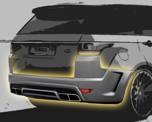 Range Rover Sport Heckschürze Breitversion Hamann Motorsport