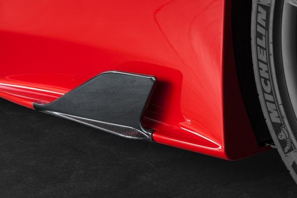 Ferrari 458 Speciale Carbon Seitenfinnen Capristo