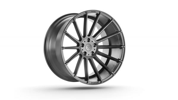 Anniversary EVO 2 Graphite Grey 23 Zoll Felgen Range Rover Velar Jaguar F-Pace Hamann Motorsport