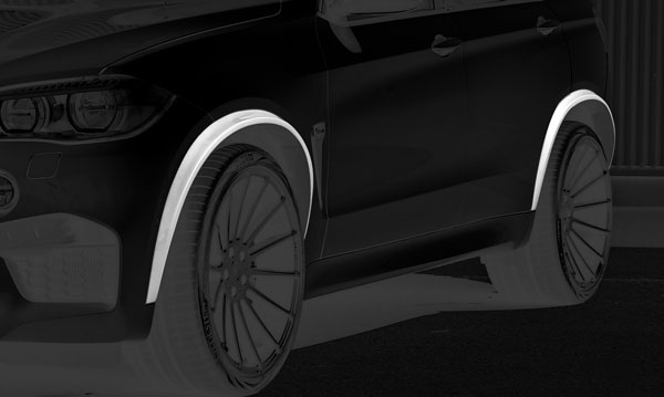 BMW X5 Radlaufblenden Hamann Motorsport