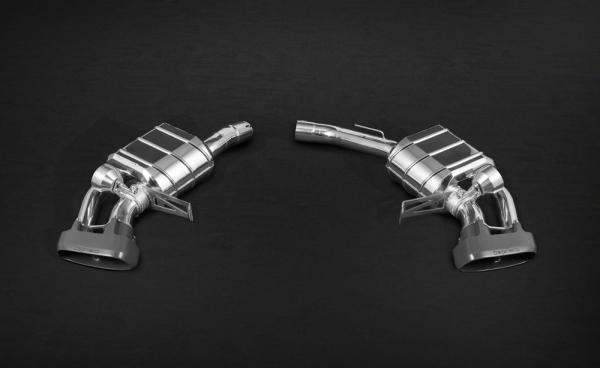 Porsche Macan S & Turbo Endschalldämpfer Capristo