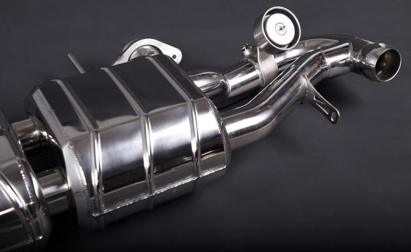 Aston Martin Vantage Endschalldämpfer Capristo