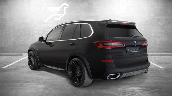 Diffusor BMW X5 G05 Hamann Motorsport