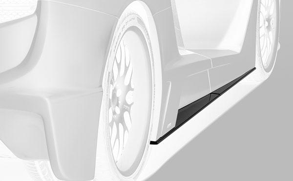 McLaren MP4-12C Seitenleisten Carbon Hamann Motorsport