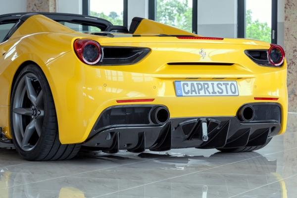 Ferrari 488 GTB & GTS Carbon Diffusor Capristo