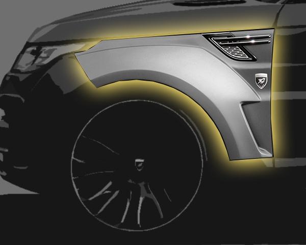 Range Rover Sport Kotflügel Breitversion Hamann Motorsport