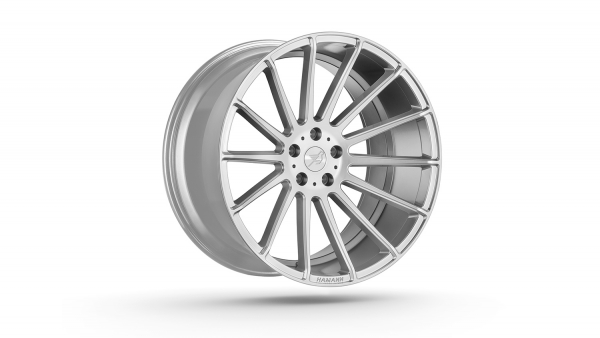 Anniversary EVO 2 Hyper Silver 22 Zoll Felgen BMW X5 F15 F85 X6 F16 F86 Mercedes GLE Porsche Cayenne 958 Hamann Motorsport