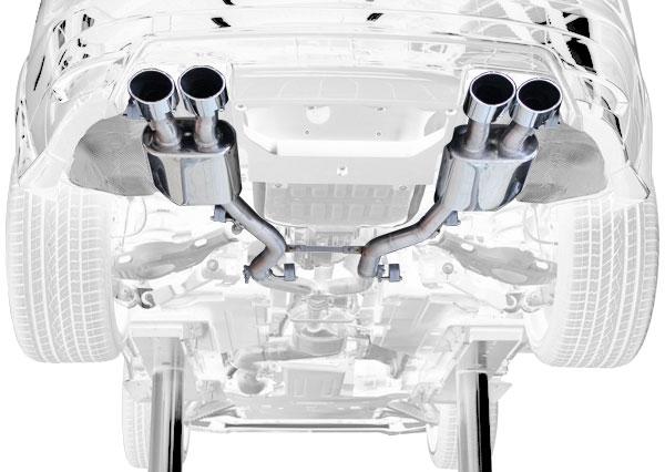 Jaguar F-Pace Endschalldämpfer Hamann Motorsport