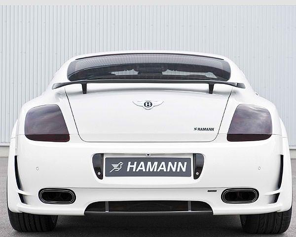 Bentley Continental Heckschürze Diffusor Hamann Motorsport