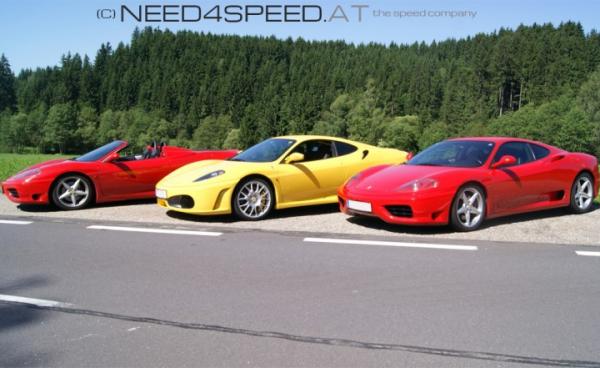 Ferrari Schnupperfahrt