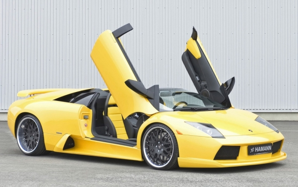 Lamborghini Murcielago Frontspoiler Hamann Motorsport
