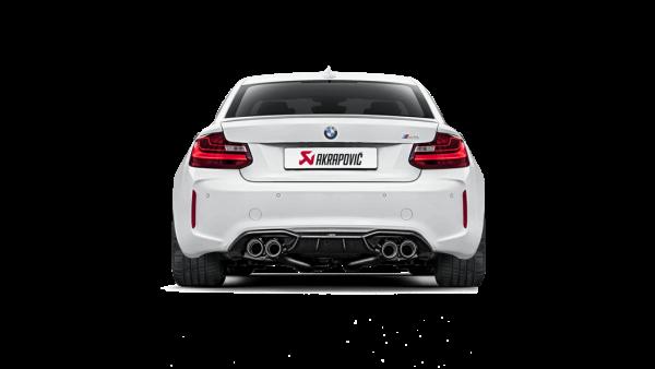BMW M2 Carbon Diffusor Akrapovic