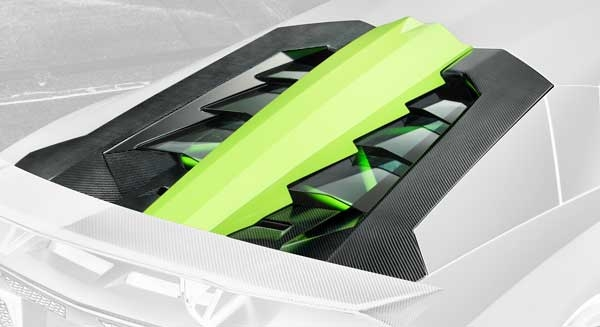 Lamborghini Aventador Motorklappe Carbon Hamann Motorsport