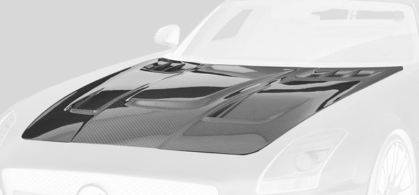 Mercedes AMG SLS Motorhaube Carbon HAWK Hamann Motorsport