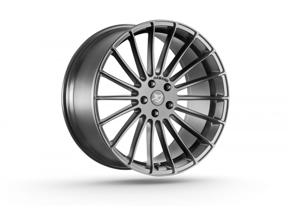 Anniversary EVO Graphite Grey 23 Zoll Felgen BMW X5 F15 X6 F16 X5M F85 X6M F86 Mercedes AMG GLE Coupe Hamann Motorsport