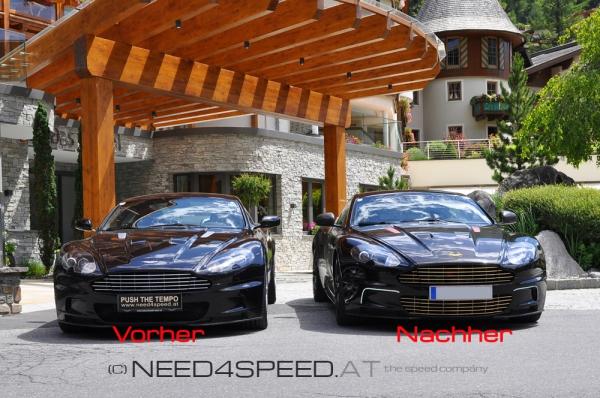 Kühlergrill Erweiterung für Aston Martin DBS