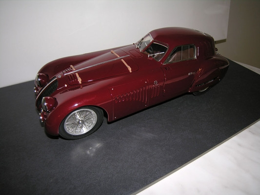 Alfa Romeo 8C Speciale Touring Coupe 1938