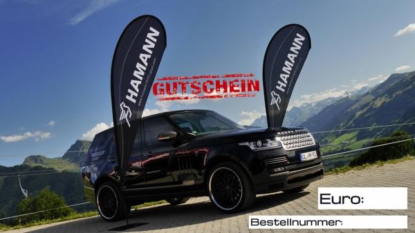 Hamann Motorsport Geschenkgutschein